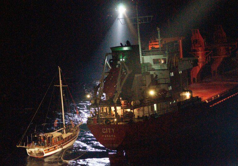SOS από πλοίο ανοιχτά της Σκύρου – 10 μποφόρ η ένταση των ανέμων! | Newsit.gr