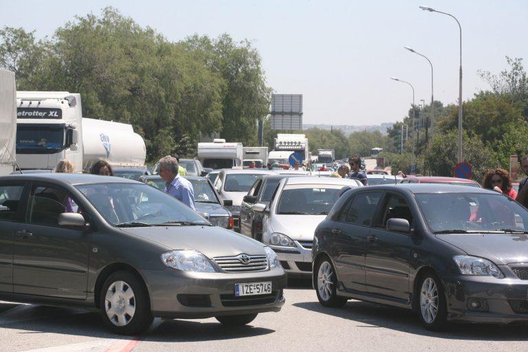 Θεσσαλονίκη: Αυξημένη η κίνηση στην Ε.Ο. – Ουρές στα διόδια! | Newsit.gr