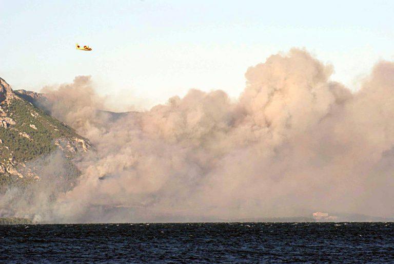 Εύβοια: Η φωτιά έφτασε στη θάλασσα – Εκκενώθηκε ξενοδοχείο σε μια ατμόσφαιρα αποπνικτική! [pics]