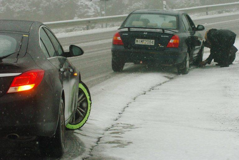 Με αντιολισθητικές αλυσίδες η κυκλοφορία των οχημάτων στη Βόρεια Ελλάδα | Newsit.gr