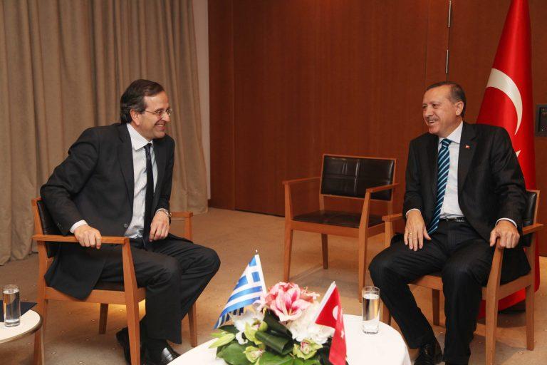 Τώρα: Συνάντηση Σαμαρά – Ερντογάν στο Κατάρ | Newsit.gr