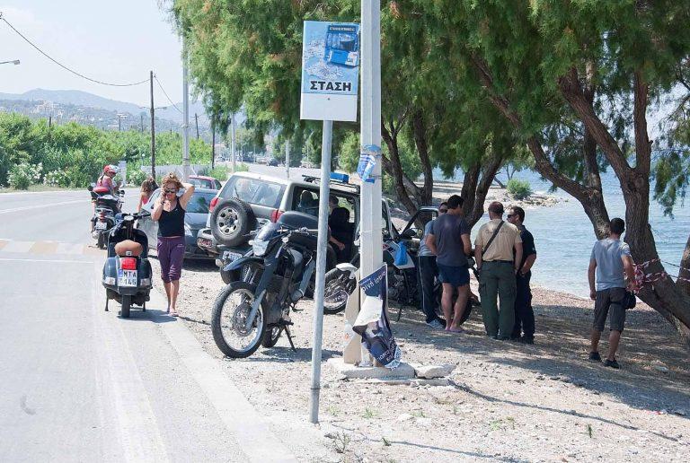 Μυτιλήνη: Πλημμύρισαν… ανθρώπινα δράματα οι πλατείες-Βίντεο! | Newsit.gr