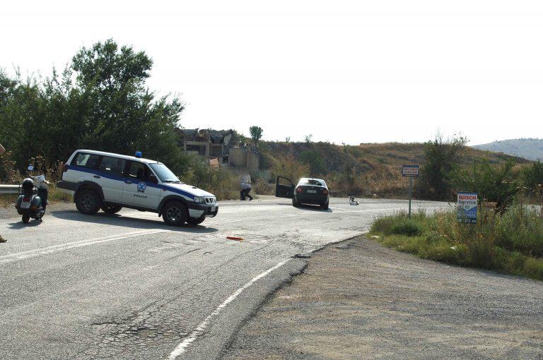 Βρέθηκε το αυτοκίνητο των ληστών της τράπεζας στις Λιβανάτες   Newsit.gr