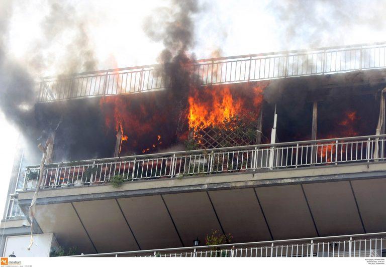Χανιά: Πυρκαγιά στην περιοχή Παρθενώνας | Newsit.gr