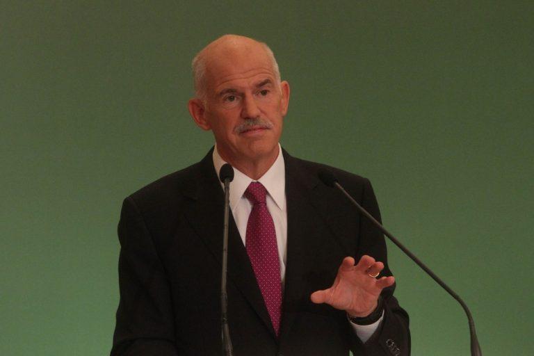 Παπανδρέου σε ένα παγωμένο ακροατήριο: «Η δική μας φυγή δεν θα είναι οι εκλογές αλλά φυγή προς τα εμπρός» | Newsit.gr