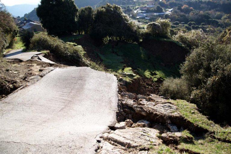 Ιωάννινα: Μεγάλες ζημιές στο οδικό δίκτυο από την κακοκαιρία | Newsit.gr