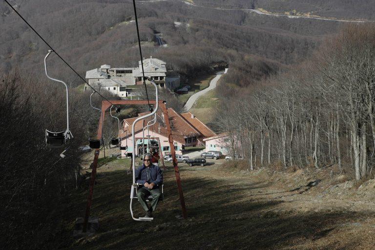 Πήλιο: Κλειστό το χιονοδρομικό… λόγω έλλειψης χιονιού! | Newsit.gr