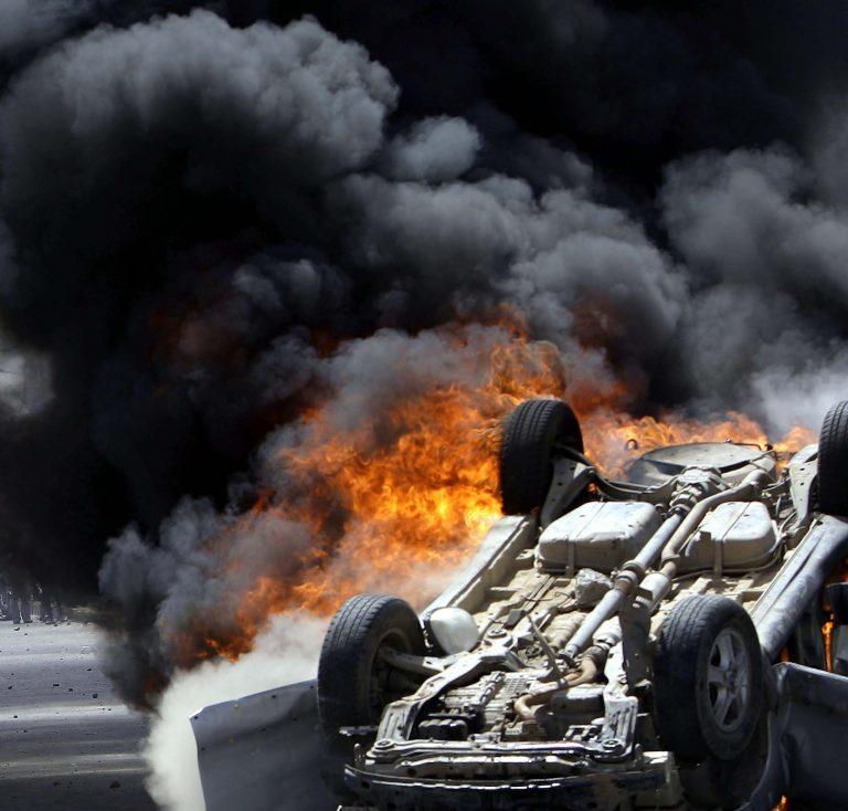 Θεσσαλονίκη: Αυτοκίνητο έγινε στάχτη στην Περαία | Newsit.gr
