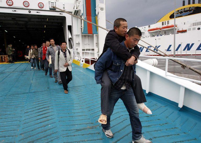 Ηράκλειο: Κατέπλευσε πλοίο με Κινέζους από την Λιβύη | Newsit.gr