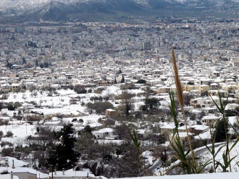 Καιρός: Χιονίζει και στον Βόλο – Στο Πήλιο το χιόνι ξεπέρασε τα 60 εκατοστά!