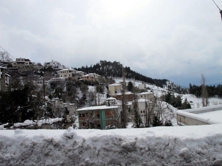Φθιώτιδα: Ο νομός στην κατάψυξη – Δρόμοι παγίδες και ατυχήματα! | Newsit.gr