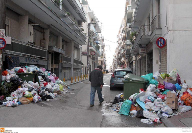 Τα σκουπίδια «πνίγουν» τη Θεσσαλονίκη | Newsit.gr