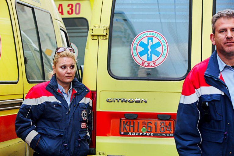 Λαμία: Επίσχεση εργασίας από εργαζόμενους του ΕΚΑΒ | Newsit.gr