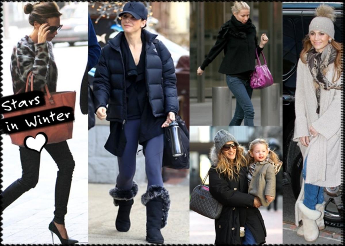 Tι φοράνε οι celebrities για να αντιμετωπίσουν το κρύο;   Newsit.gr