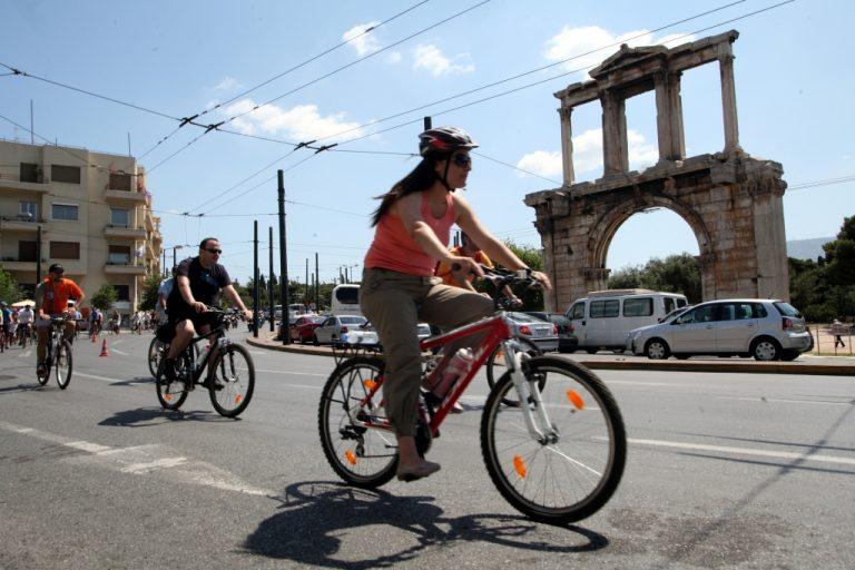 Ελεύθερα από σήμερα τα ποδήλατα στις λεωφορειολωρίδες | Newsit.gr