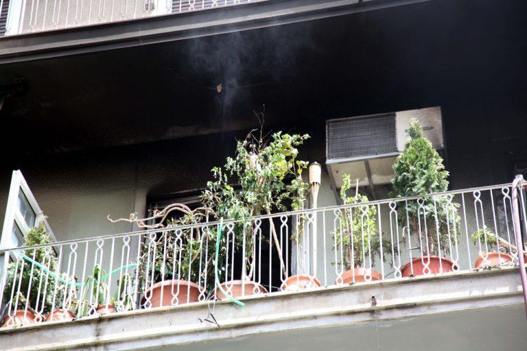 Ρέθυμνο: Κατάφερε να βγει ζωντανή, από το φλεγόμενο διαμέρισμά της! | Newsit.gr