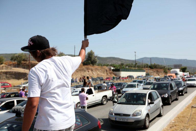 Κορινθία: Κάτοικοι του Ξυλοκάστρου απέκλεισαν την εθνική οδό   Newsit.gr