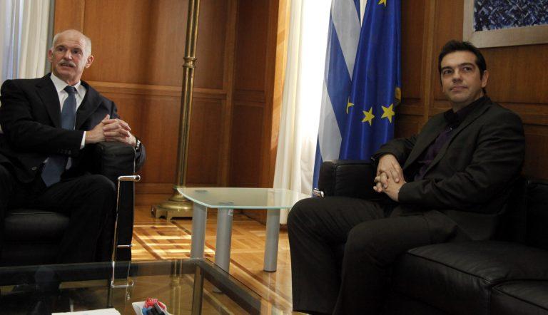 Τι ήθελε να πει; Παπανδρέου σε Τσίπρα: «Δεν πάω σε εκλογές αν δεν βρεθεί λύση» | Newsit.gr