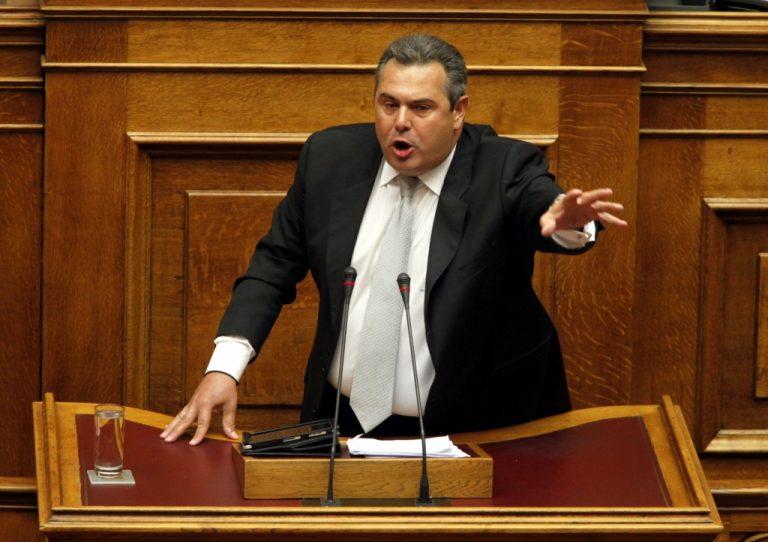 Π.Καμμένος: Εγώ θα καταψηφίσω τη νέα δανειακή σύμβαση   Newsit.gr
