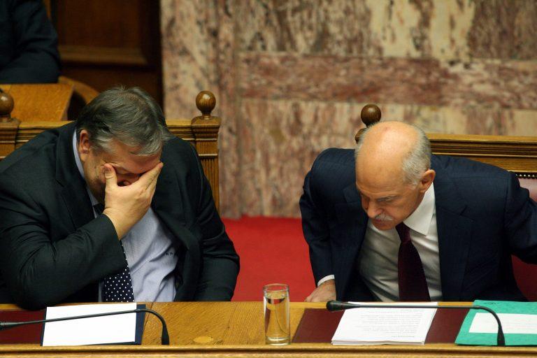 Ρήξη στο ΠΑΣΟΚ – Που διαφώνησαν Παπανδρέου – Βενιζέλος | Newsit.gr