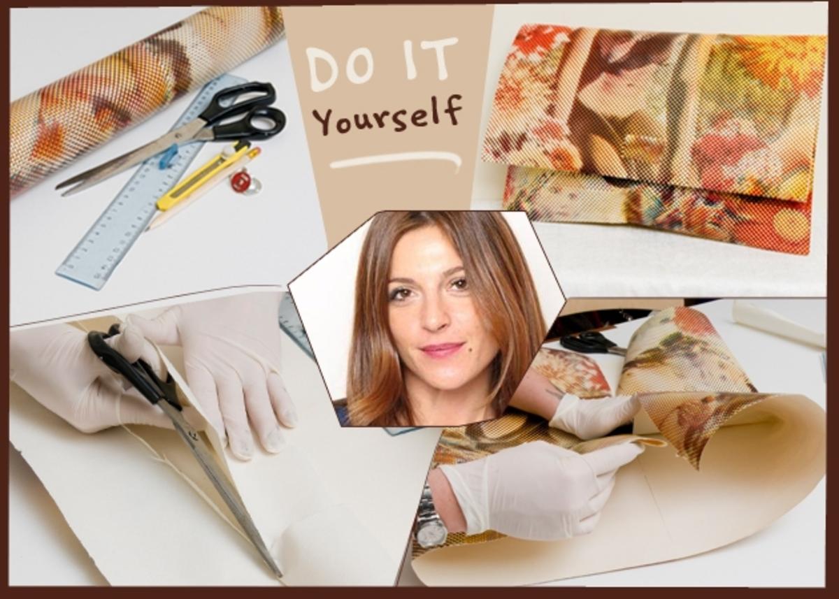 Η Πόπη Αναστούλη σου δείχνει πώς να φτιάξεις μια τσάντα φάκελο μόνη σου… | Newsit.gr