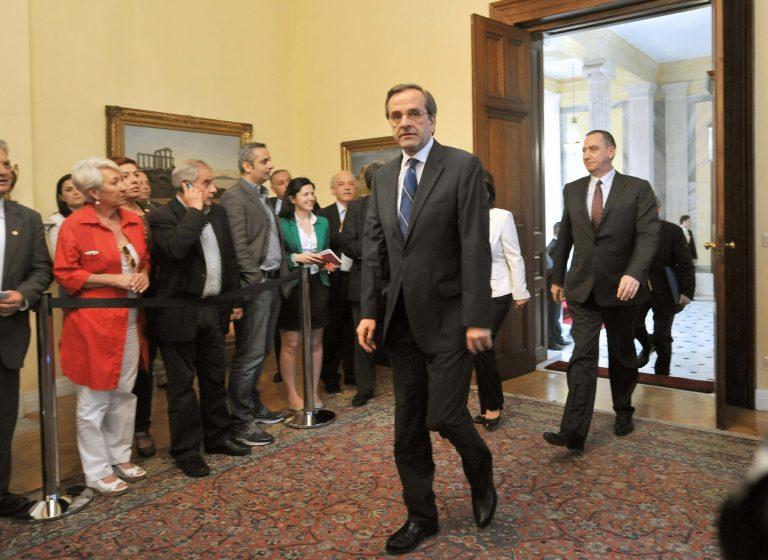 Σαμαράς για συνεργασία με Μπακογιάννη:»Ότι έχω να πω το λέω δημόσια!» | Newsit.gr