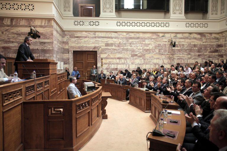 ΛΕΠΤΟ ΠΡΟΣ ΛΕΠΤΟ: Η ομιλία Σαμαρά στην Κ.Ο. της ΝΔ – «Ηθελαν να θυσιάσουν την Ελλάδα ως Ιφιγένεια» | Newsit.gr