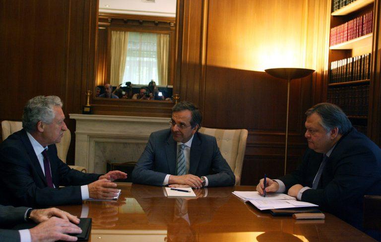 Την Δευτέρα η νεα συνάντηση Σαμαρά – Βενιζέλου – Κουβέλη | Newsit.gr