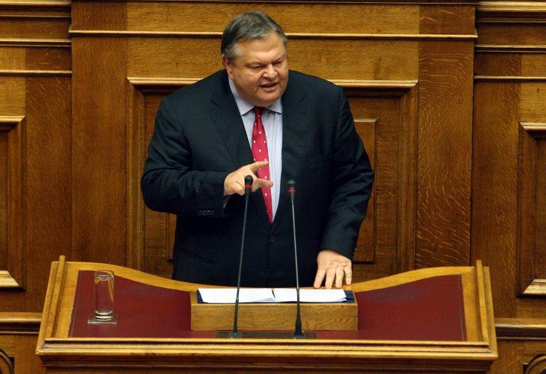 Βενιζέλος:Αιχμές κατά Στουρνάρα – Τα 10 σημεία που κατέθεσε σε Σαμαρά | Newsit.gr