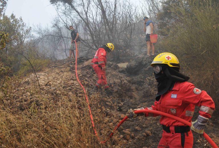 Ζάκυνθος: Μάχη με τις φλόγες δίνουν από το μεσημέρι οι πυροσβέστες | Newsit.gr