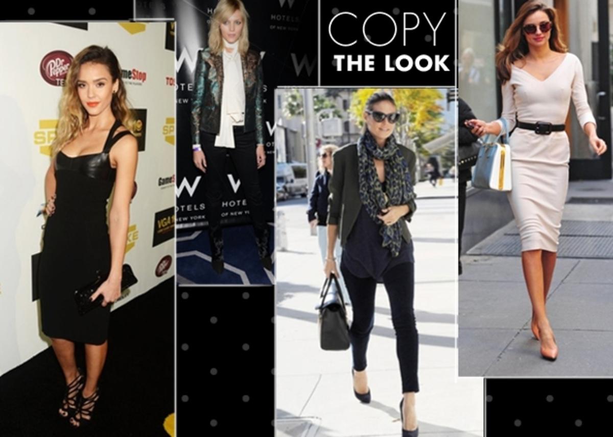 Jessica Alba, Heidi Klum, Miranda Kerr… Πως να αποκτήσεις το στιλ των σταρ!   Newsit.gr