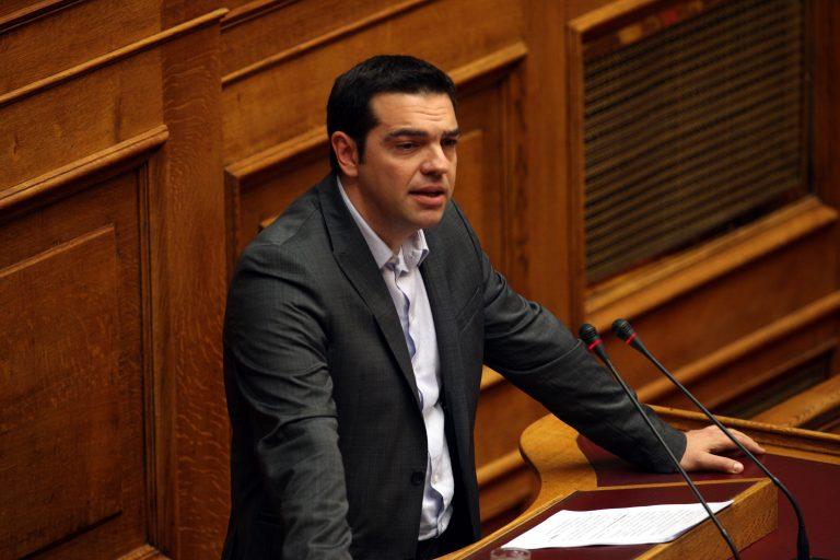 Τσίπρας: «Η εθνική διαπλοκή έχει βάλει μαύρες πλερέζες» | Newsit.gr