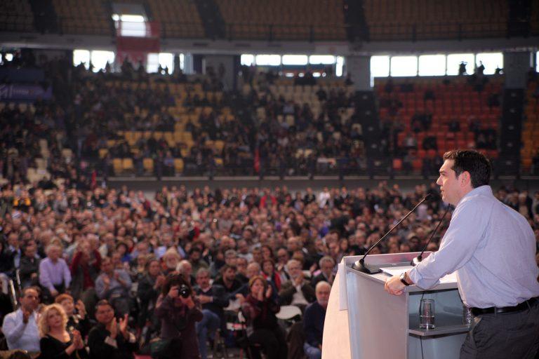 Υπερψηφίστηκε η διακήρυξη του ΣΥΡΙΖΑ   Newsit.gr