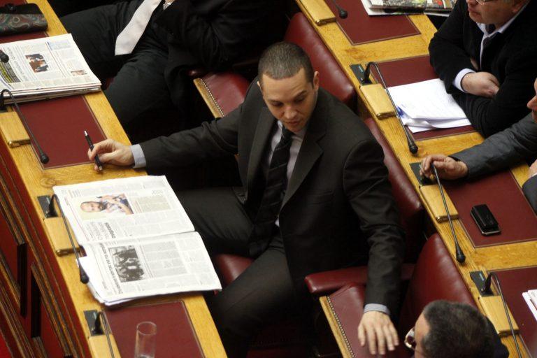 Κασιδιάρης κατά Γεωργιάδη – Άγριος καυγάς στη Βουλή | Newsit.gr