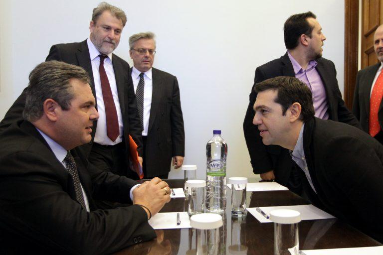 Κοινό μέτωπο αποφάσισαν Τσίπρας – Καμμένος! | Newsit.gr