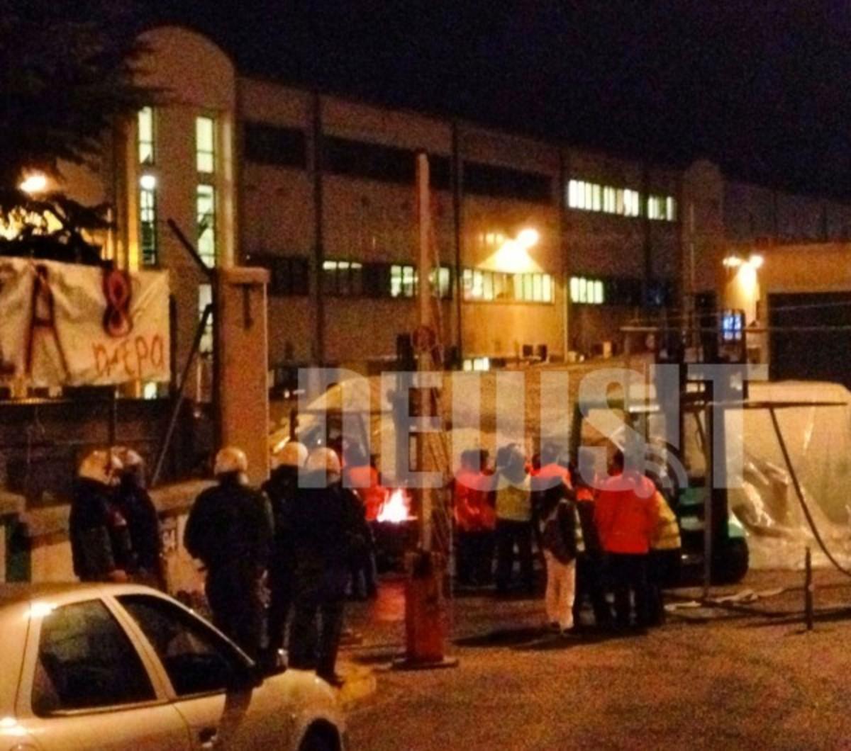 Βίντεο Ντοκουμέντο: Η στιγμή της επέμβασης των ΜΑΤ στο αμαξοστάσιο του ΜΕΤΡΟ στα Σεπόλια! | Newsit.gr