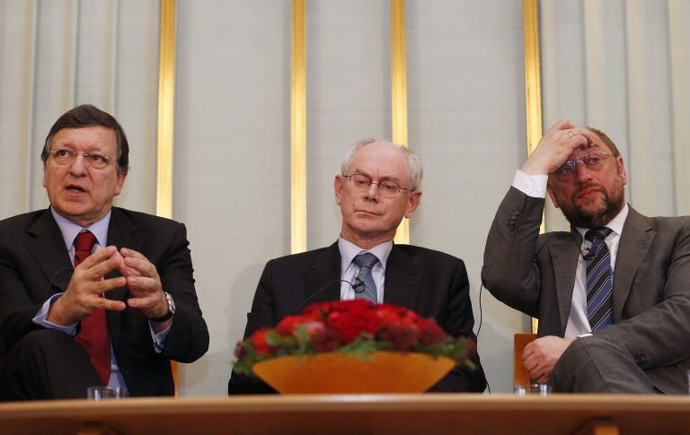 Διχασμένη και διαιρεμένη η ΕΕ των 500 εκατομμυρίων ψυχών παίρνει το Nobel Ειρήνης | Newsit.gr
