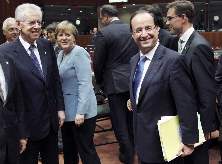 Φτιάχνουν μέτωπο – Μόντι – Ολάντ στην Ιταλία πριν την μίνι Σύνοδο Κορυφής | Newsit.gr