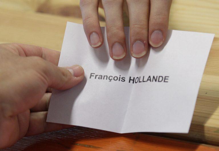 Τα exit poll δείχνουν ότι ο Ολάντ είναι ο νεος Πρόεδρος της Γαλλίας   Newsit.gr