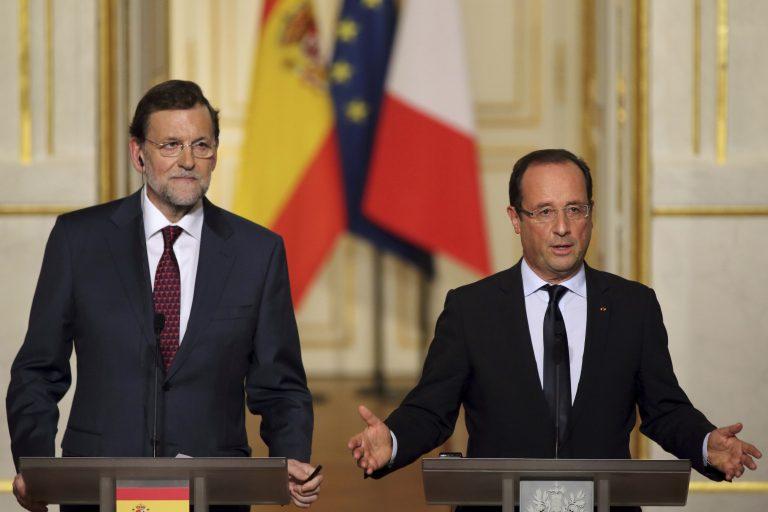 «Να παραμείνει η Ελλάδα στο ευρώ», είπαν μ' ενα στόμα Ολάντ και Ραχόι | Newsit.gr