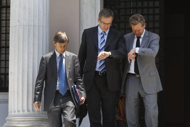 Μόλις 50 λεπτά κράτησε η συνάντηση Σαμαρά-τροϊκανών | Newsit.gr