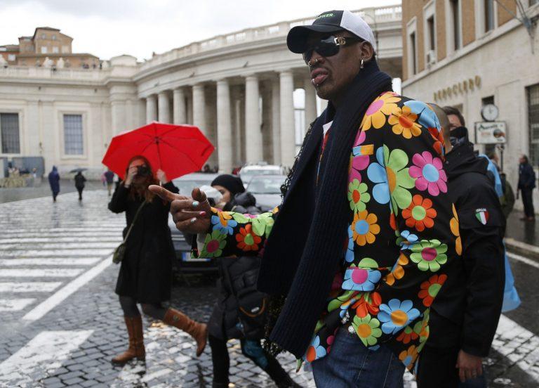 Ο Ρόντμαν στο Βατικανό για να στηρίξει τον μαύρο Πάπα!   Newsit.gr