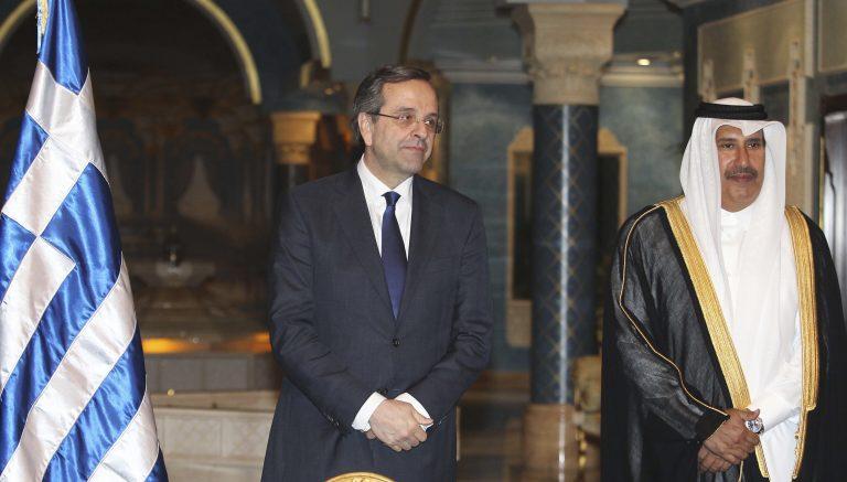 Σαμαράς: Νεο ξεκίνημα στις σχέσεις Ελλάδας – Κατάρ   Newsit.gr