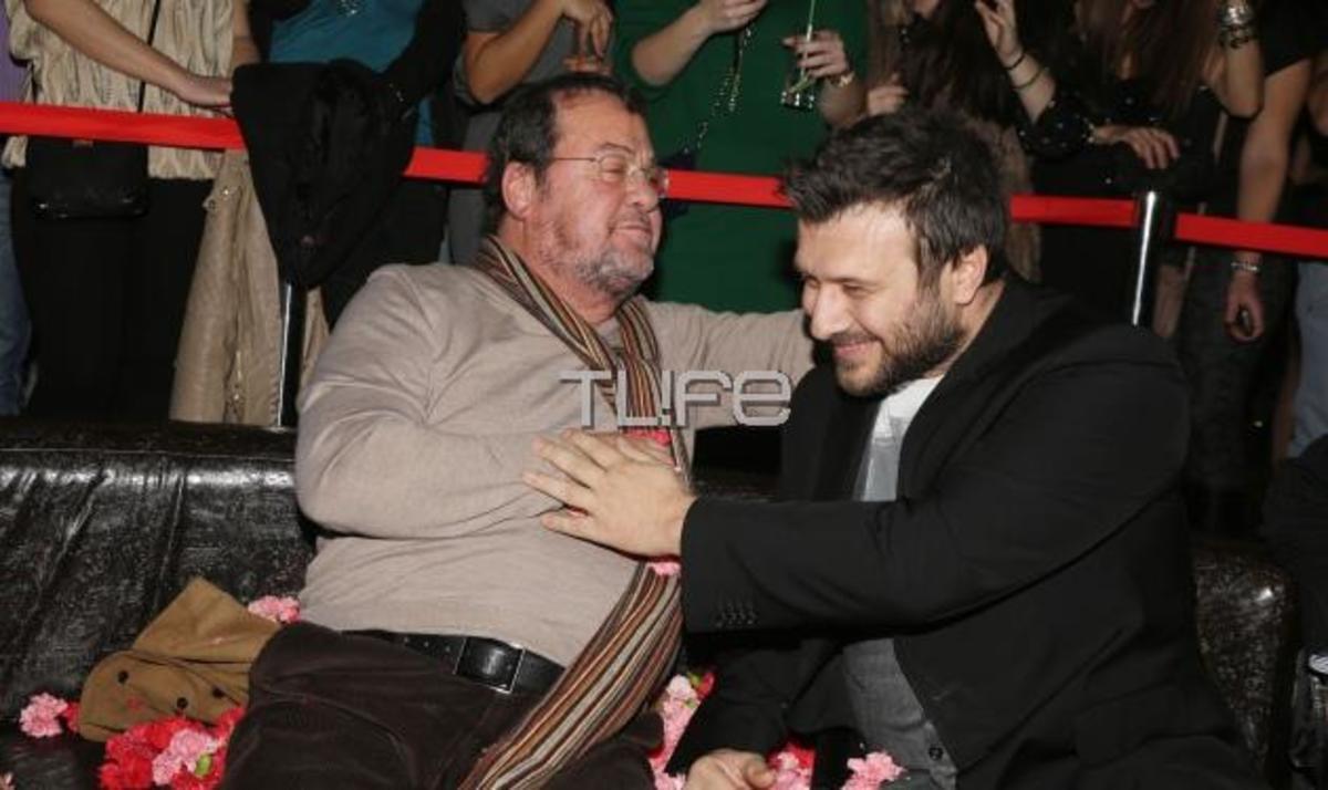 Γ. Πάριος – Γ. Πλούταρχος: Τραγούδησαν μαζί και διασκέδασαν στον Σ. Γονίδη! Φωτογραφίες | Newsit.gr