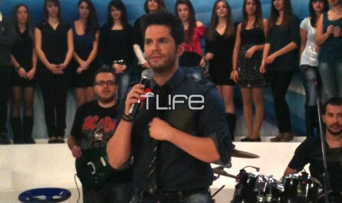 Γ. Τσαλίκης: Κάνει πάλι… χαμό στην εκπομπή της Τατιάνας! Backstage φωτογραφίες | Newsit.gr