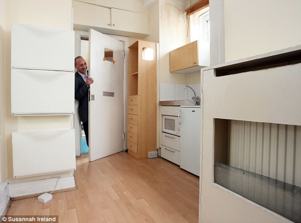 Το πιο μικρό διαμέρισμα του Λονδίνου είναι 6,9 τ.μ. και θέλει να το αγοράσει έλληνας! – VIDEO | Newsit.gr