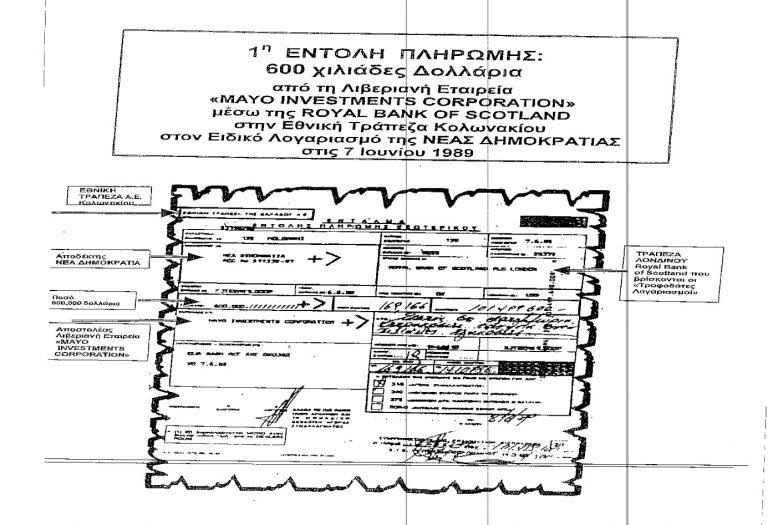Σκάνδαλο Siemens: 5 εμβάσματα από την Mayo 1,5 εκατ.$ σε λογαριασμό της Ρηγίλλης!   Newsit.gr