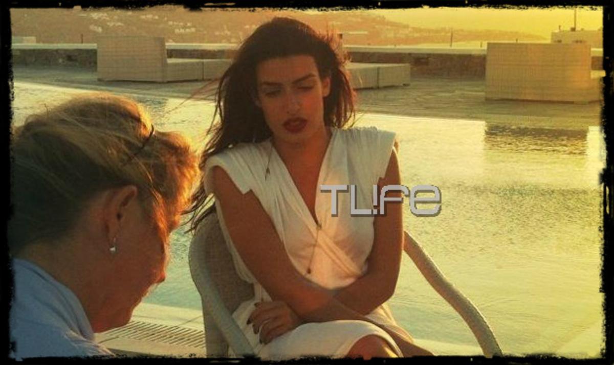 Τι έκανε η Τόνια Σωτηροπούλου στη Μύκονο; Βίντεο και φωτογραφίες   Newsit.gr