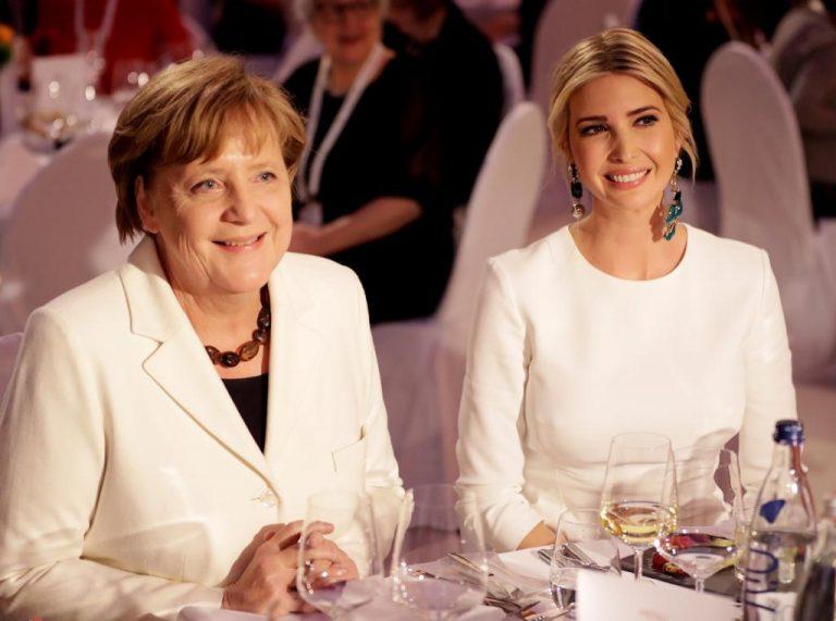 Ιβάνκα Τραμπ: Εκθαμβωτική! Η λυκοφιλία με την Μέρκελ! [pics] | Newsit.gr
