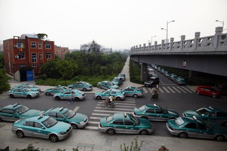 Κίνα:Οι ταξιτζήδες απεργούν για φθηνότερες άδειες! | Newsit.gr